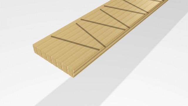 Grafische Darstellung Holzdübel setzen für den Massivholzbau ohne Leim