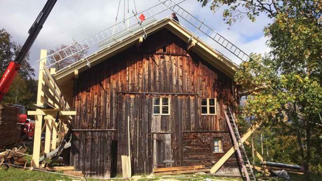 Instandsetzung aus dem Allgäu: Hütten & alte Holzhäuser renovieren