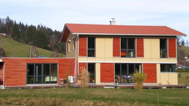 Energieeffizient - Massivholzhaus