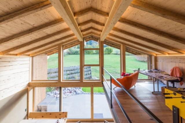 Massivholzbau als Holzbauweise für Häuser aus dem Allgäu