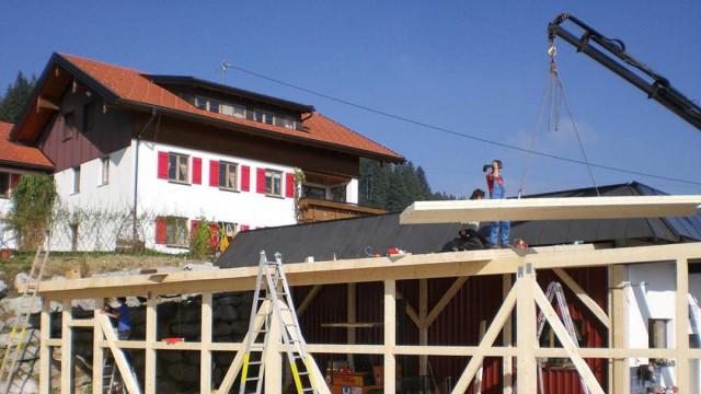 Ausbildung und Job im Holzbau