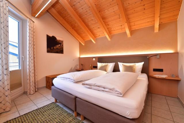 Schlafzimmer Wälderblick