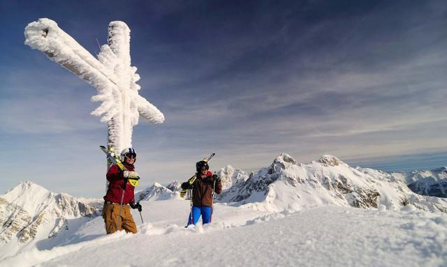 Skifahren und Langlaufen im Tannheimer Tal