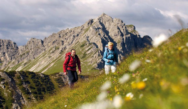 Radfahren und Wandern im Tannheimer Tal