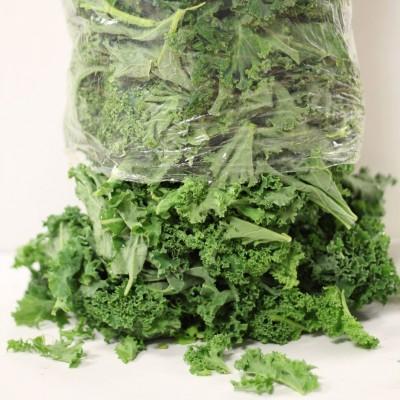 Gemüse - Grünkohl gezupft