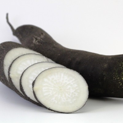 Gemüse - Rettich schwarz