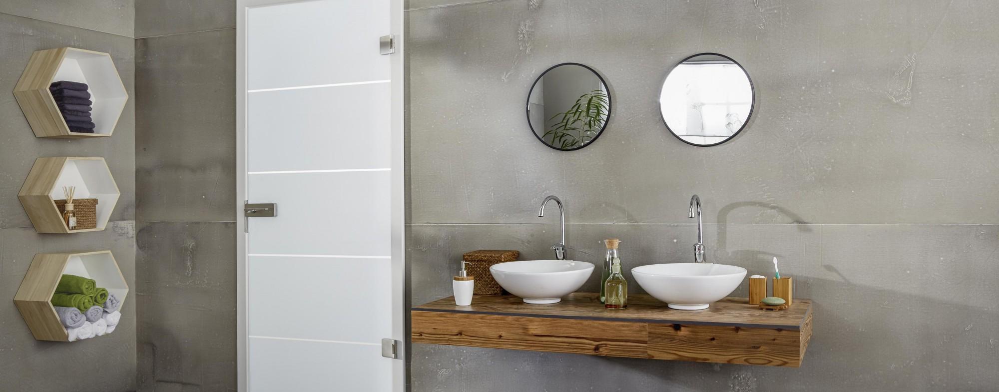 Badezimmer Betonoptik