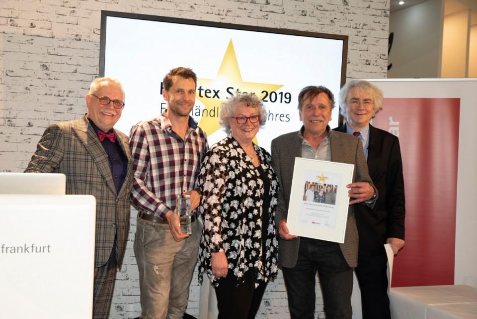 Verleihung zum Heimtex Star 2019 in Frankfurt
