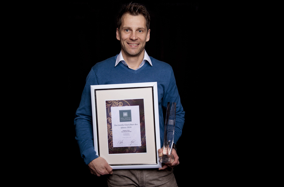 Auszeichnung Textiler Einrichter 2018
