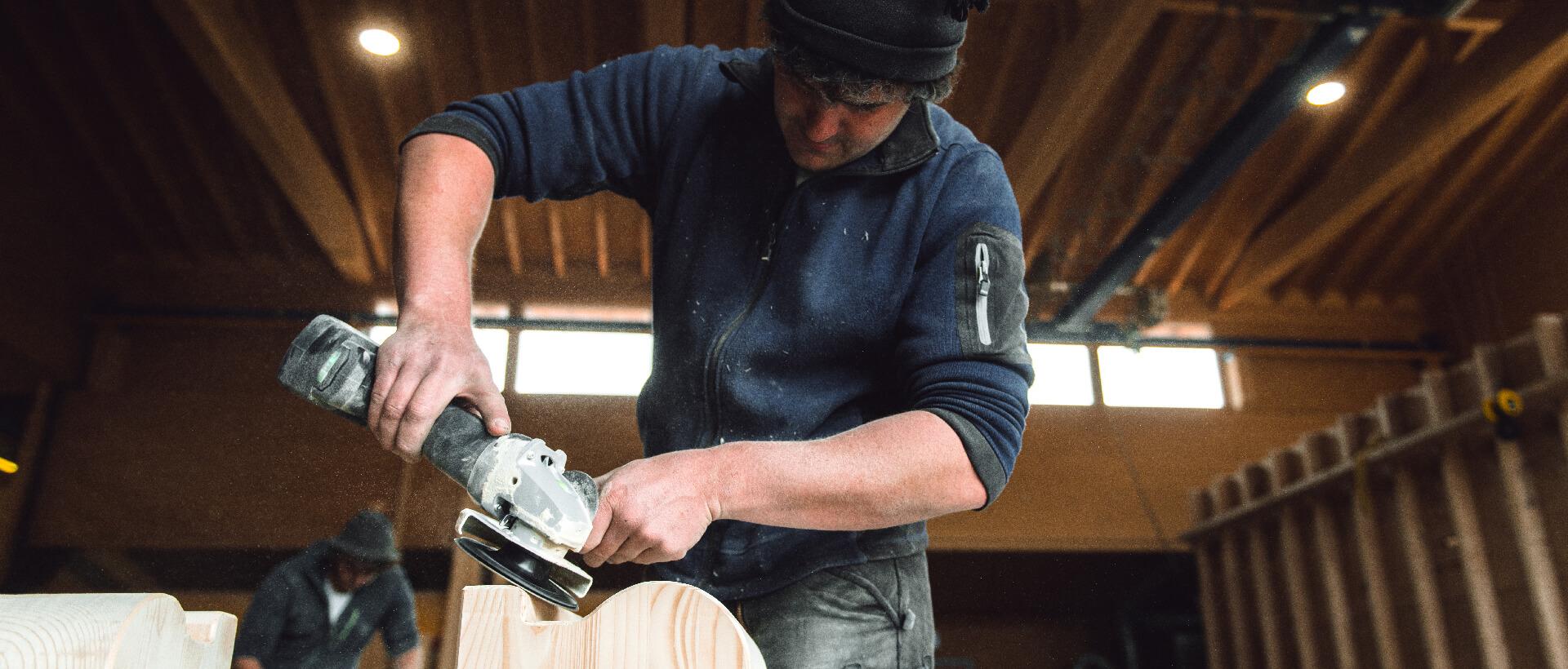 Zimmerei - Bauen mit Holz